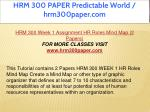 hrm 300 paper predictable world hrm300paper com 7