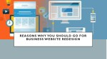 reasons why you should go for business website