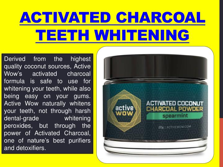 activated charcoal teeth whitening n.