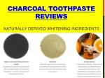 charcoal toothpaste reviews