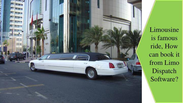 limousine is famous ride how can book it from n.