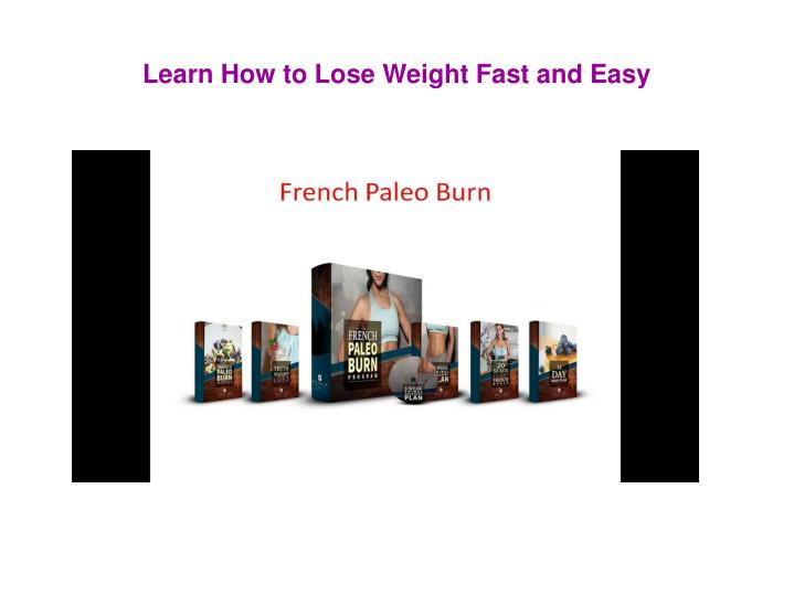 french paleo burn n.