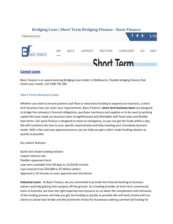 bridging loan short term bridging finance basic n.
