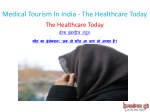 medical tourism in india the healthcare today 2