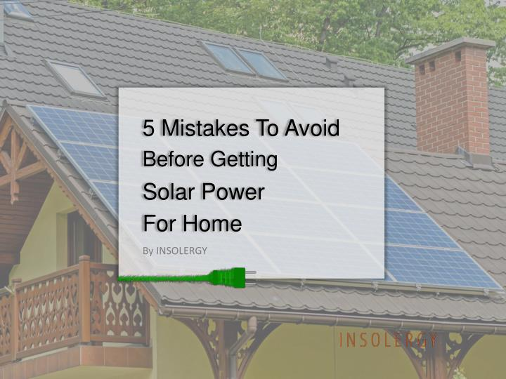 5 mistakes to avoid n.
