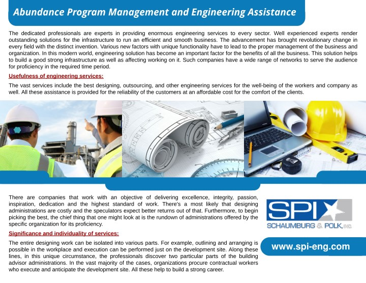 abundance program management and engineering n.