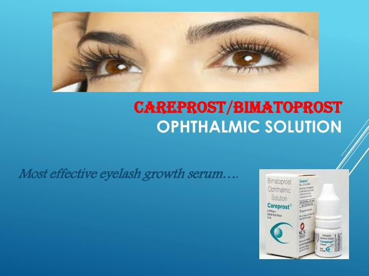 careprost bimatoprost ophthalmic solution n.