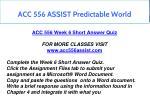 acc 556 assist predictable world 11