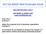 acc 556 assist new predictable world 17
