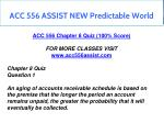 acc 556 assist new predictable world 8