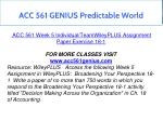 acc 561 genius predictable world 23
