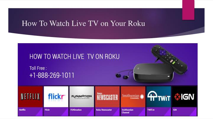 how to watch live tv on your roku n.