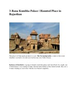 3 rana kumbha palace haunted place in rajasthan