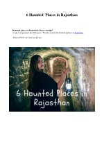6 haunted places in rajasthan