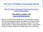 acc 561 tutorial predictable world 16