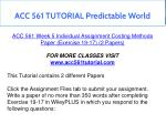 acc 561 tutorial predictable world 22