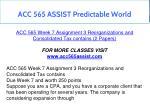 acc 565 assist predictable world 4