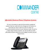 affordable business phone telephone systems