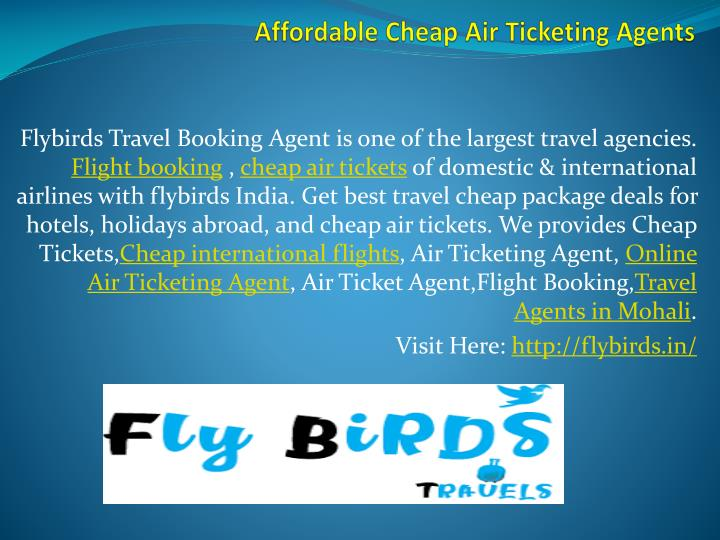 affordable cheap air ticketing agents n.