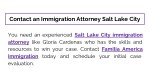contact an immigration attorney salt lake city