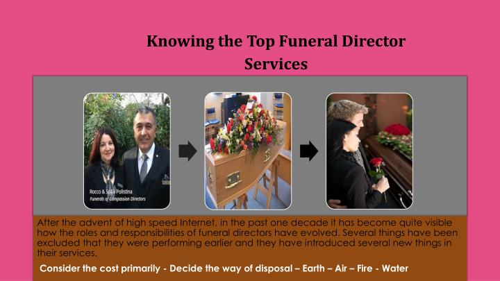 knowing the top funeral director services n.