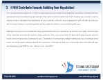 3 it will contribute towards building your