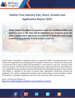 clothes tree industry size share growth