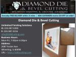 diamond die bevel cutting
