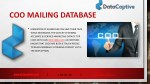 coo mailing database