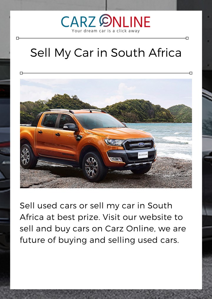 sell my car in south africa n.