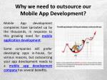 why we need to outsource our mobile app development 3