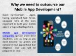 why we need to outsource our mobile app development 5