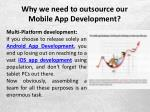 why we need to outsource our mobile app development 7
