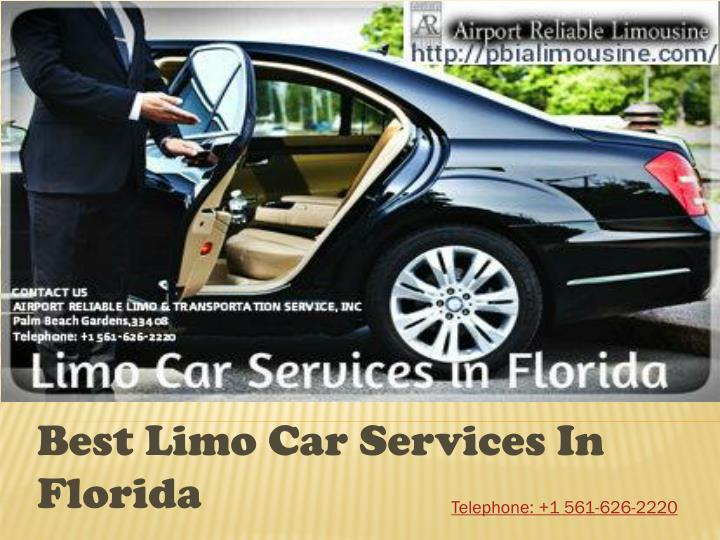 best l imo c ar services in florida n.