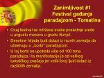 zanimljivost 1 festival ga anja paradajzom tomatina