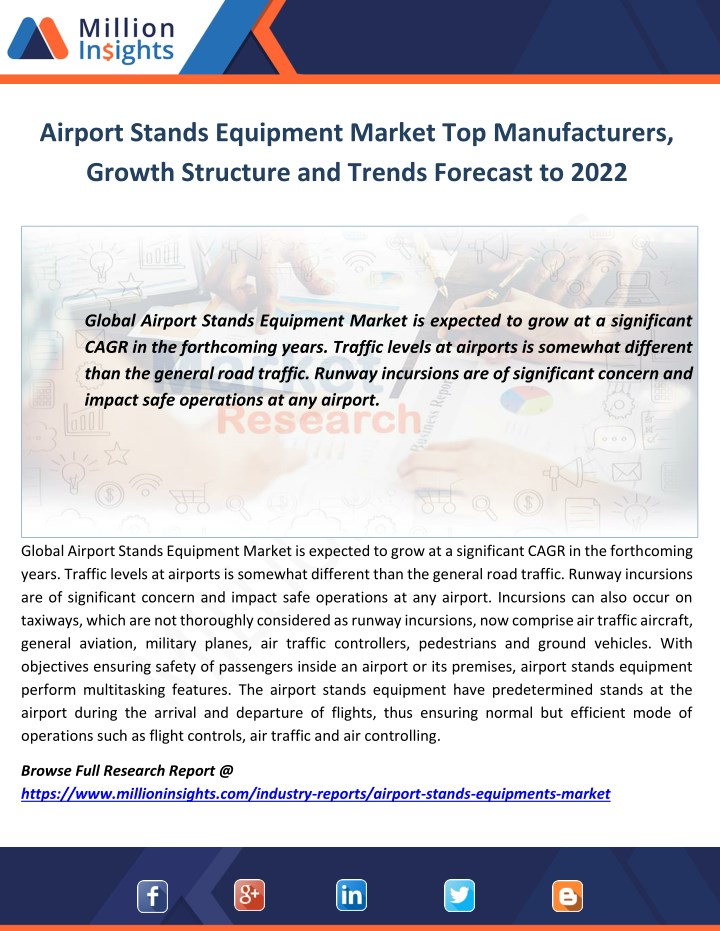 airport stands equipment market top manufacturers n.
