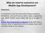 why we need to outsource our mobile 6