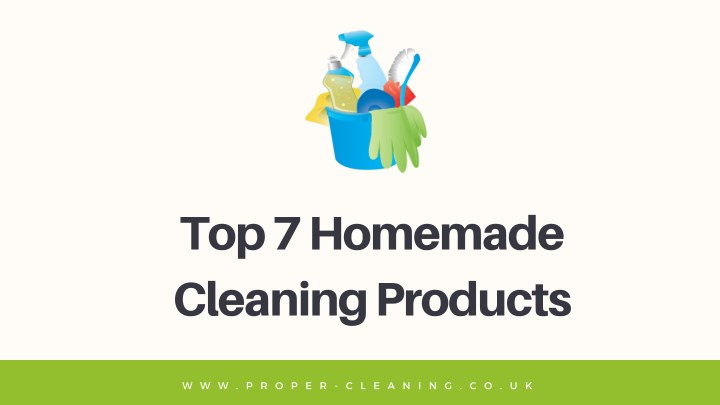 top 7 homemade cleaning products n.