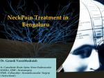 neckpain treatment in bengaluru