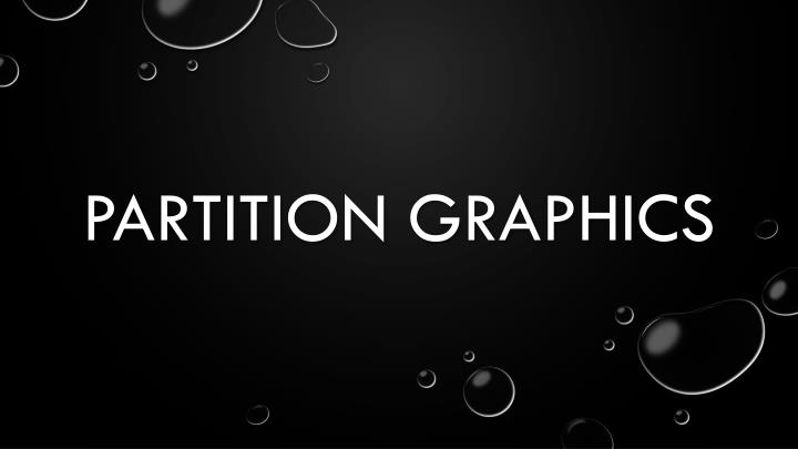 partition graphics n.