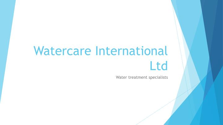 watercare international ltd n.