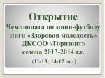 2013 2014 11 13 14 17