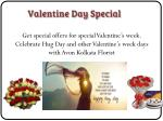 get special offers for special valentine s week