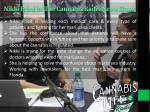 nikki fried in the cannabis radio news show