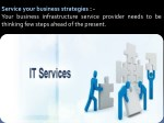 service your business strategies your business
