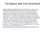 frp bypass apk free download