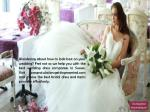 wondering about how to look best on your wedding