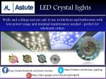 led crystal lights