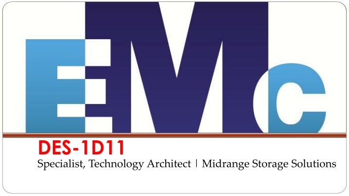 des 1d11 specialist technology architect midrange n.