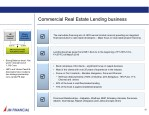commercial real estate lending business